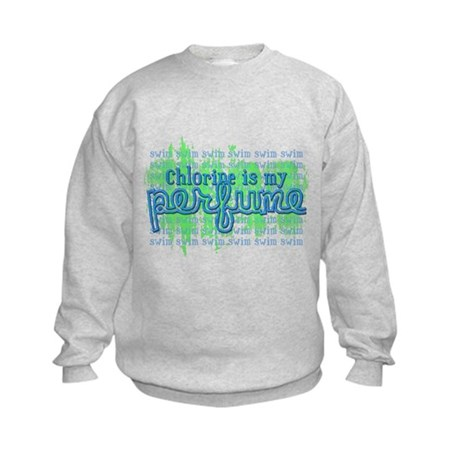 Chlorine is my Perfume (3 des Kids Sweatshirt