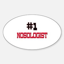 Number 1 NOSOLOGIST Oval Decal
