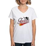 Trollball! Women's V-Neck T-Shirt