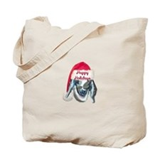 Nubian Kid Goat Xmas Tote Bag