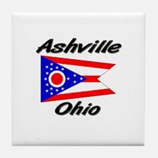 Ashville Ohio Tile Coaster