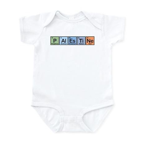 Palestine made of Elements Infant Bodysuit