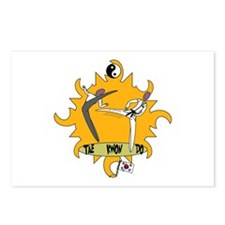 Tae Kwon Do Postcards (Package of 8)