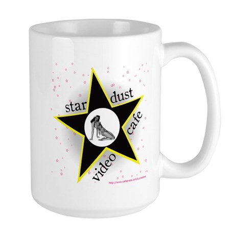 Stardust Black Star Large Mug