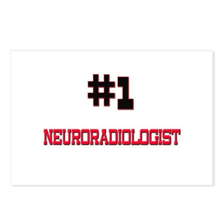 Number 1 NEURORADIOLOGIST Postcards (Package of 8)