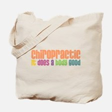 Chiro Does A Body Good Tote Bag