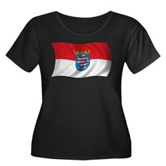 Wavy Hesse Flag T