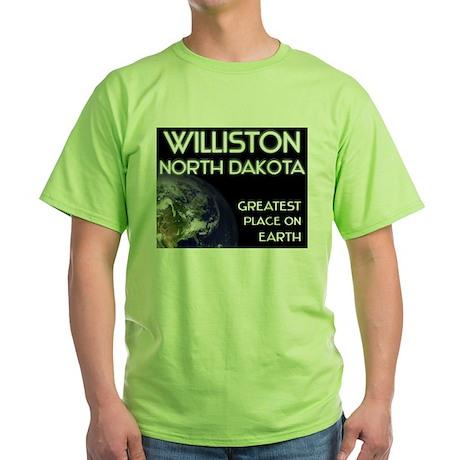 williston north dakota - greatest place on earth G