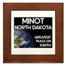 minot north dakota - greatest place on earth Frame