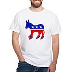DONKEY WITH BIRKS White T-Shirt