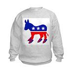 DONKEY WITH BIRKS Kids Sweatshirt
