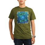 Earth Day 2 Organic Men's T-Shirt (dark)