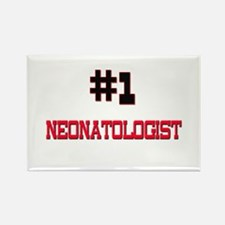 Number 1 NEONATOLOGIST Rectangle Magnet