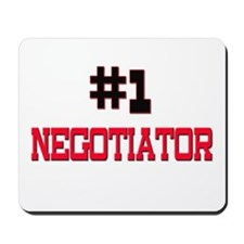 Number 1 NEGOTIATOR Mousepad