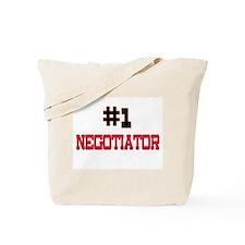 Number 1 NEGOTIATOR Tote Bag