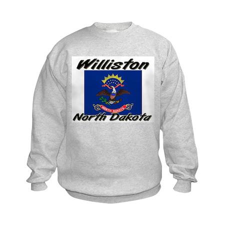 Williston North Dakota Kids Sweatshirt