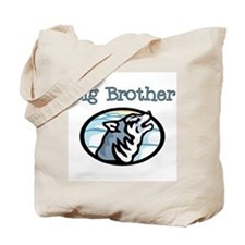 Wolf Big Brother Tote Bag