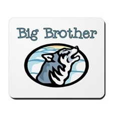Wolf Big Brother Mousepad