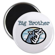 Wolf Big Brother Magnet