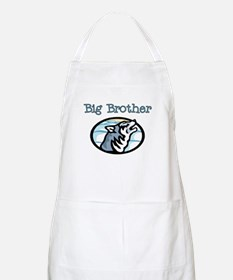Wolf Big Brother BBQ Apron