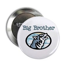 """Wolf Big Brother 2.25"""" Button"""