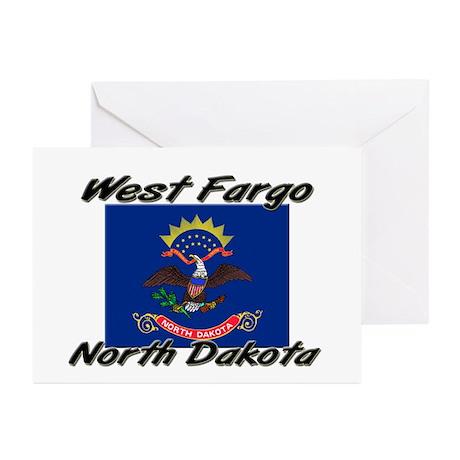 West Fargo North Dakota Greeting Cards (Pk of 10)