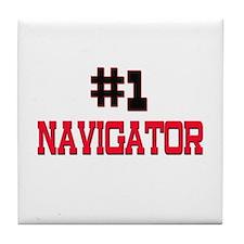 Number 1 NAVIGATOR Tile Coaster