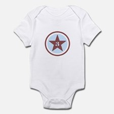 Number Three Infant Bodysuit