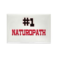 Number 1 NATUROPATH Rectangle Magnet