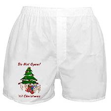 Pygmy Kids Open Gifts! Boxer Shorts