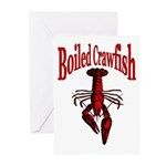 Boiled Crawfish Greeting Cards (Pk of 10)