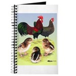 Danish Leghorn Rooster, Hen & Journal