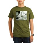 Ice Pigeons Organic Men's T-Shirt (dark)