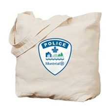 Montreal Police Tote Bag