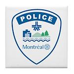 Montreal Police Tile Coaster