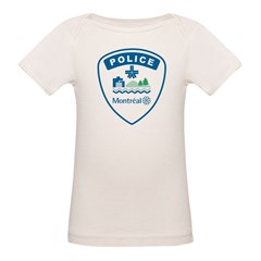 Montreal Police Organic Baby T-Shirt