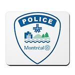 Montreal Police Mousepad
