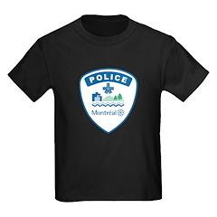 Montreal Police Kids Dark T-Shirt