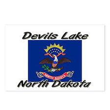 Devils Lake North Dakota Postcards (Package of 8)