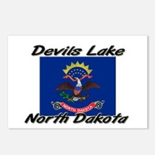 Devils Lake North Dakota Postcards (Package of 8)