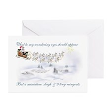 Pygmy ReinGoats Christmas Greeting Cards (Package