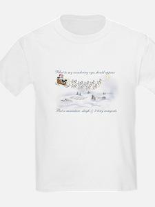 Pygmy ReinGoats Christmas Kids T-Shirt