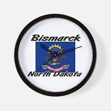 Bismarck North Dakota Wall Clock