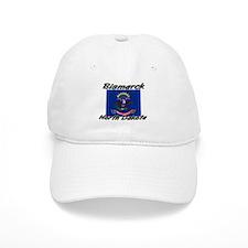 Bismarck North Dakota Baseball Cap