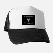 F-15 Husband, Black/Grey Trucker Hat