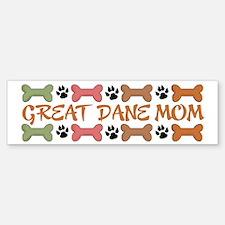 Great Dane Mom Bumper Bumper Bumper Sticker