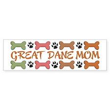 Great Dane Mom Bumper Bumper Sticker