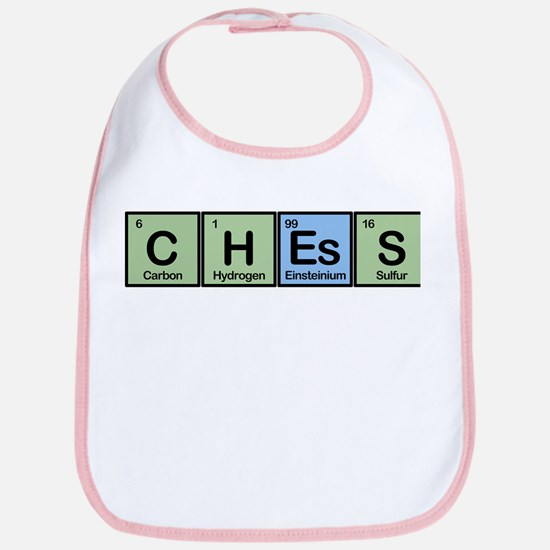 Chess made of Elements Bib