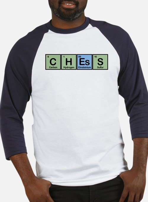 Chess made of Elements Baseball Jersey