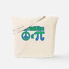 Peace of Pie Tote Bag